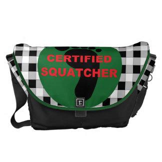 La bolsa de mensajero certificada de Squatcher Bolsas De Mensajeria