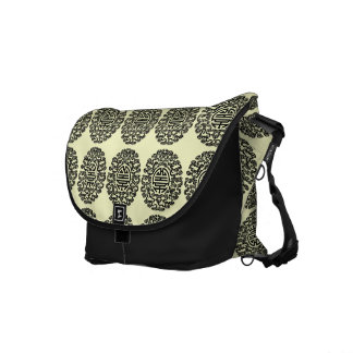 La bolsa de mensajero china del adorno bolsas de mensajería