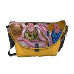 La bolsa de mensajero colorida de la diversión de  bolsa de mensajería
