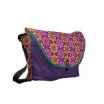 La bolsa de mensajero colorida del carrito bolsa de mensajería