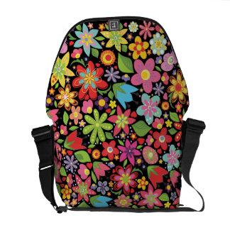 La bolsa de mensajero colorida del modelo de flore bolsas messenger