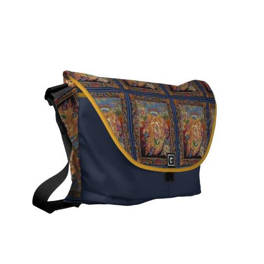 La bolsa de mensajero Cuatro-Armada de Ganesh Bolsas De Mensajeria