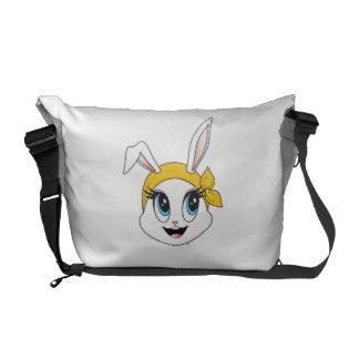 La bolsa de mensajero Cutesy de Bunny™ Bolsa Messenger