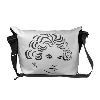 La bolsa de mensajero de Beethoven Bolsa Messenger