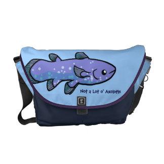 La bolsa de mensajero de Coelacanth Bolsas De Mensajería