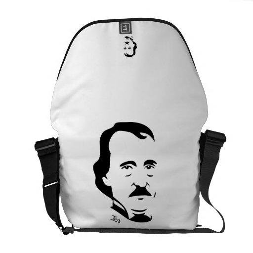 La bolsa de mensajero de Edgar Allan Poe Bolsas De Mensajería
