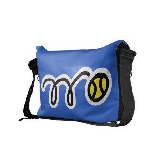 La bolsa de mensajero de encargo para los jugadore bolsas de mensajeria