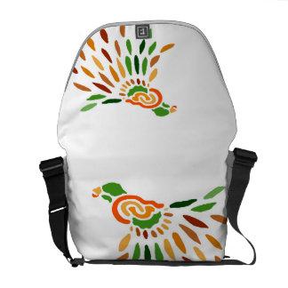 La bolsa de mensajero de Fanbird - arte de Cricket Bolsas De Mensajeria