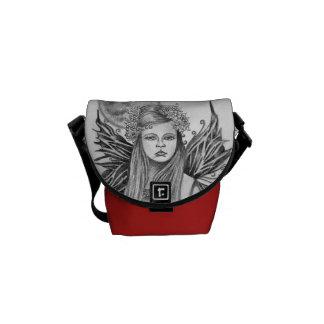 La bolsa de mensajero de hadas del chica de la lun bolsas messenger