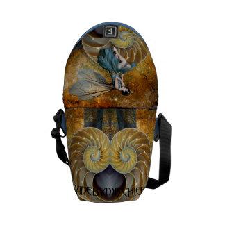 La bolsa de mensajero de hadas espiral del trono bolsas messenger