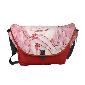 La bolsa de mensajero de hadas roja bolsa messenger