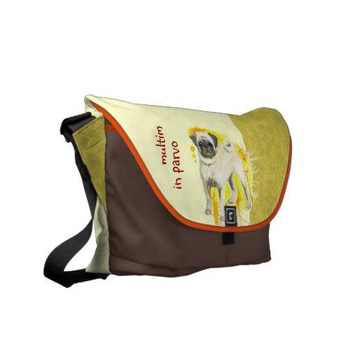 La bolsa de mensajero de la acuarela del barro ama bolsas messenger