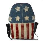 La bolsa de mensajero de la bandera americana del  bolsas de mensajeria