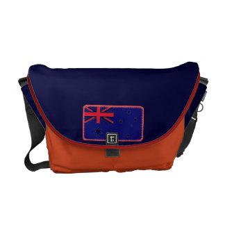 La bolsa de mensajero de la bandera de Australia Bolsas De Mensajeria