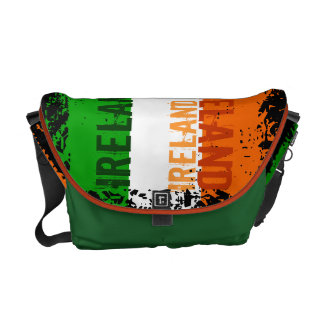 La bolsa de mensajero de la bandera de Irlanda Bolsa Messenger