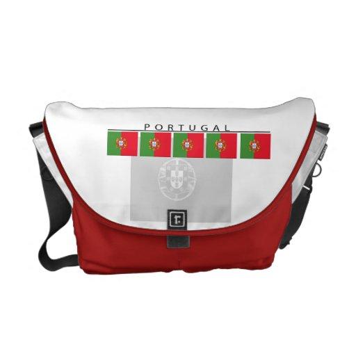 La bolsa de mensajero de la bandera de Portugal Bolsas Messenger