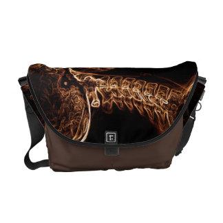 La bolsa de mensajero de la C-espina dorsal de Bro Bolsas De Mensajería
