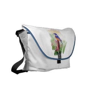 La bolsa de mensajero de la canción del Bluebird Bolsas De Mensajeria