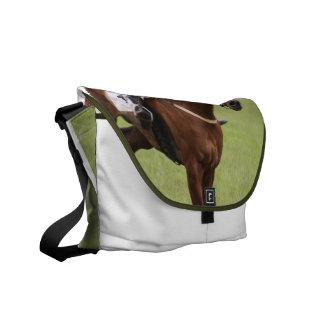La bolsa de mensajero de la carrera de caballos bolsas de mensajería