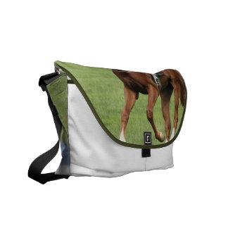 La bolsa de mensajero de la carrera de caballos de bolsas messenger