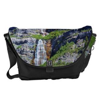 La bolsa de mensajero de la cascada #1a- de Utah Bolsas De Mensajería