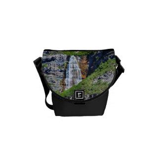 La bolsa de mensajero de la cascada #1b- de Utah Bolsas De Mensajería