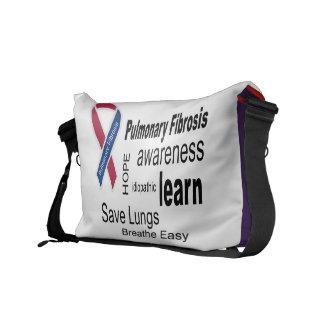 La bolsa de mensajero de la conciencia de la fibro bolsa de mensajería