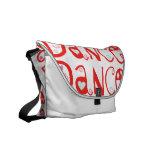 La bolsa de mensajero de la danza de la danza de l bolsa de mensajeria