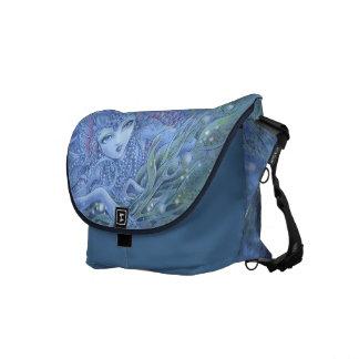 La bolsa de mensajero de la fantasía de la sirena  bolsa messenger