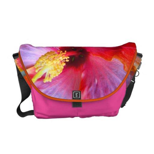 La bolsa de mensajero de la felicidad de las rosas bolsa de mensajería