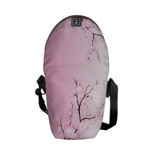 La bolsa de mensajero de la flor de cerezo - bolsa messenger