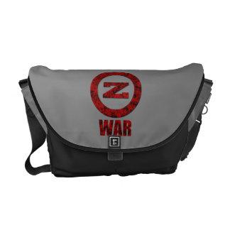 La bolsa de mensajero de la guerra del zombi bolsa messenger