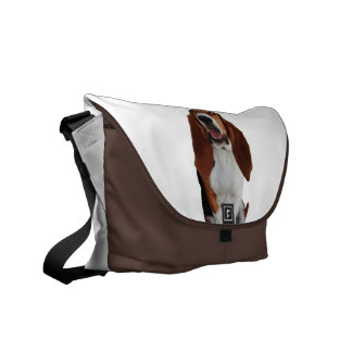 La bolsa de mensajero de la imagen de Basset Hound Bolsa De Mensajeria