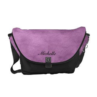 La bolsa de mensajero de la imitación de cuero de  bolsas de mensajeria