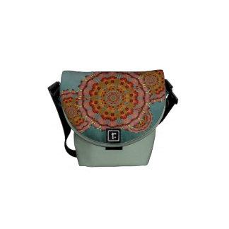 La bolsa de mensajero de la mandala del ala de la bolsa de mensajería