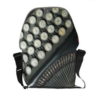 La bolsa de mensajero de la máquina de escribir de bolsas messenger