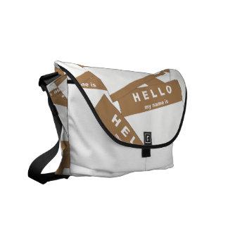 La bolsa de mensajero de la marfil de Merhaba (mor Bolsa Messenger