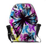 La bolsa de mensajero de la mariposa de la pintada bolsas messenger