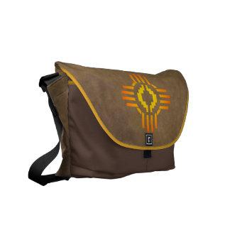 La bolsa de mensajero de la muestra de Zia Sun con Bolsas De Mensajería
