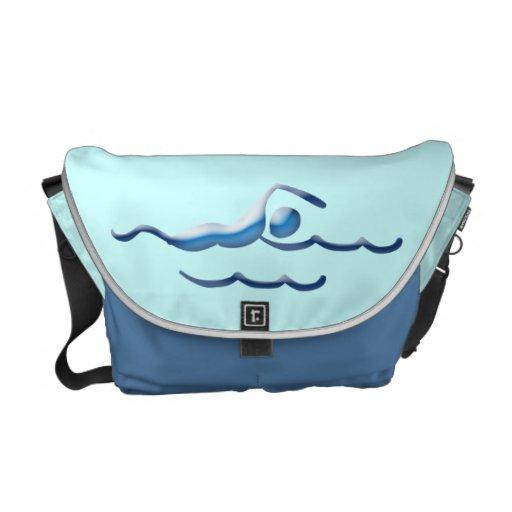 La bolsa de mensajero de la NADADA 2 Bolsas De Mensajeria