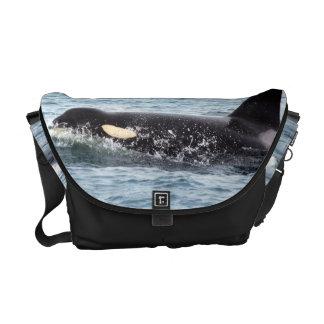 La bolsa de mensajero de la orca de la orca bolsas messenger