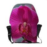 La bolsa de mensajero de la orquídea bolsa messenger