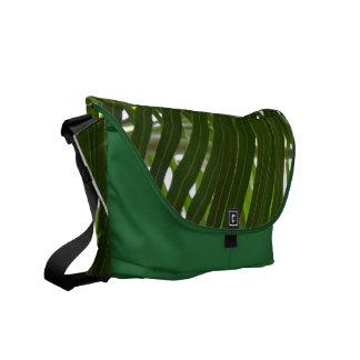 La bolsa de mensajero de la palma del eje bolsas messenger