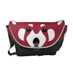 La bolsa de mensajero de la panda roja bolsas de mensajería