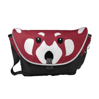 La bolsa de mensajero de la panda roja bolsas de mensajeria
