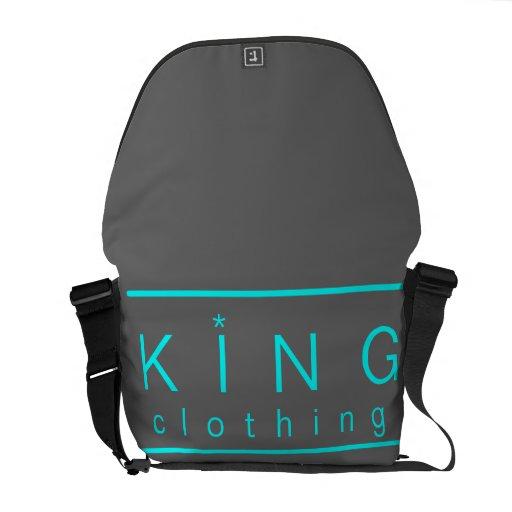 La bolsa de mensajero de la ropa del rey bolsas de mensajería