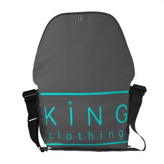 La bolsa de mensajero de la ropa del rey bolsa messenger