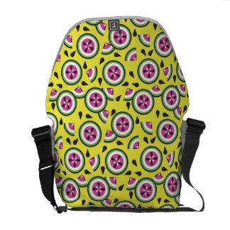 La bolsa de mensajero de la sandía bolsa de mensajería