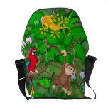 La bolsa de mensajero de la selva del carrito bolsa messenger