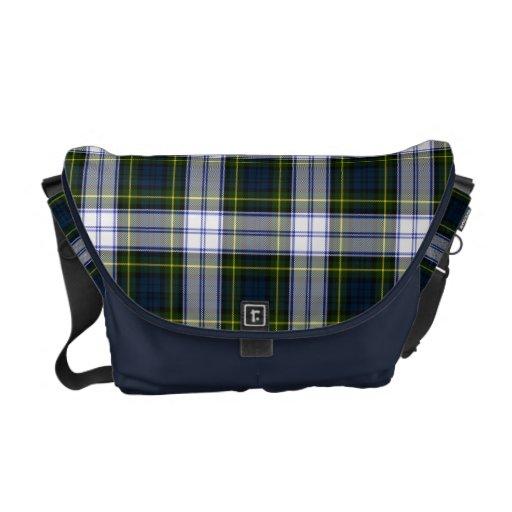 La bolsa de mensajero de la tela escocesa de tartá bolsas messenger